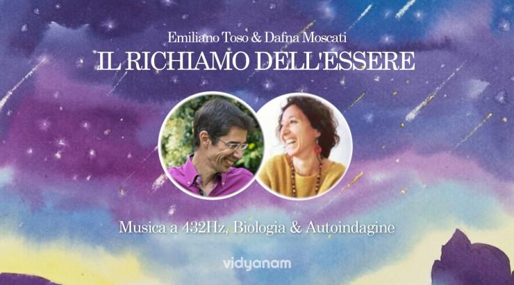 Emiliano Toso Dafna Moscati Musica a 432Hz Autoindagnine Vicenza Vidyanam